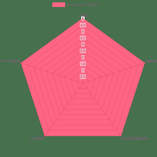 レーダーチャート表
